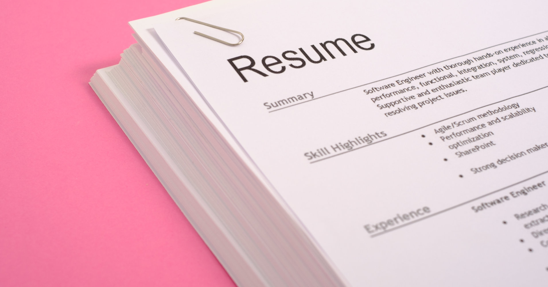 how many pages should your resume be  here u00e2 s the science  u2013 real estate  breaking news  finance